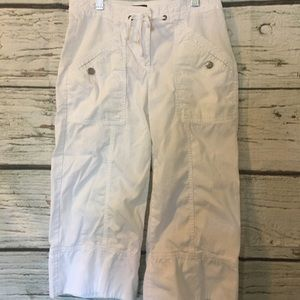 J Crew Wide Legged and Cropped Pants, Sz 0